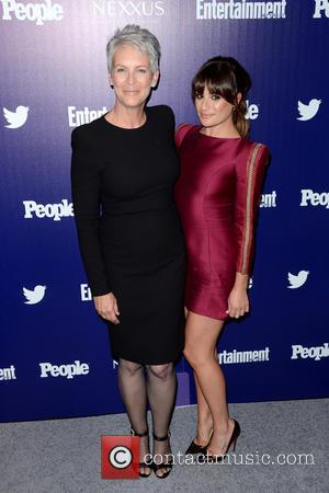 Jamie Lee Curtis and Lea Michele