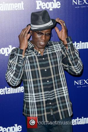 Wesley Snipes - Entertainment Weekly And PEOPLE Celebrate The New York Upfronts - Arrivals - Manhattan, New York, United States...