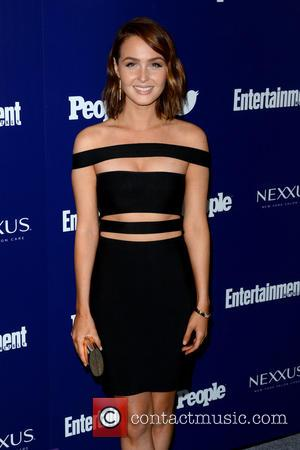 Camilla Luddington - Entertainment Weekly And PEOPLE Celebrate The New York Upfronts - Arrivals - Manhattan, New York, United States...