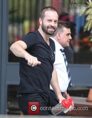 Alfie Boe - Alfie Boe outside ITV Studios today - London, United Kingdom - Tuesday 12th May 2015