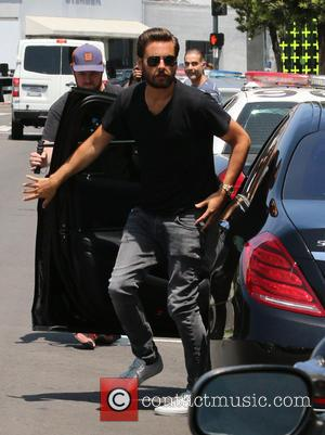 Scott Disick - Kourtney Kardashian filming for her reality TV show at Dash store in West Hollywood - Los Angeles,...