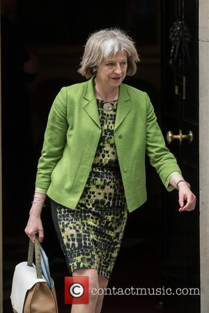 Theresa May - Ministers arrive at the first post-election Cabinet meeting at 10 Downing Street. - London, United Kingdom -...