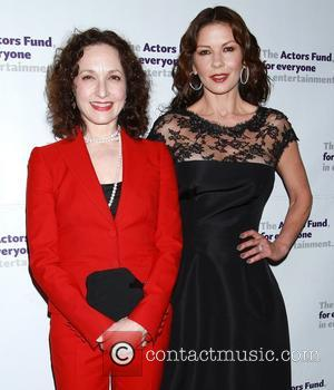 Bebe Neuwirth and Catherine Zeta-jones