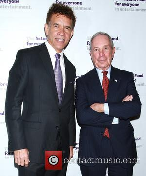 Brian Stokes Mitchell and Michael Bloomberg