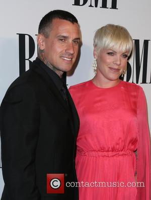 Carey Hart, P!nk and Alecia Moore