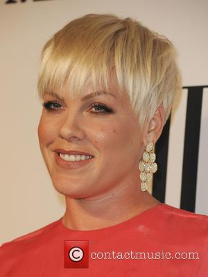 Pink - A variety of musical artists were photographed as they arrived for the 63rd Annual BMI Pop Awards in...