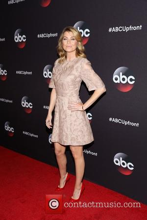 Ellen Pompeo - A variety of stars were snapped as they took to the red carpet for the ABC Upfront...