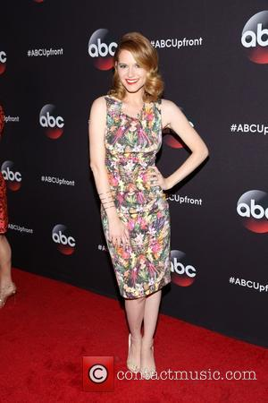 Sarah Drew - A variety of stars were snapped as they took to the red carpet for the ABC Upfront...