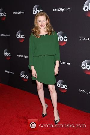 Mireille Enos - A variety of stars were snapped as they took to the red carpet for the ABC Upfront...