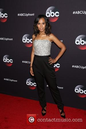 Kerry Washington - A variety of stars were snapped as they took to the red carpet for the ABC Upfront...