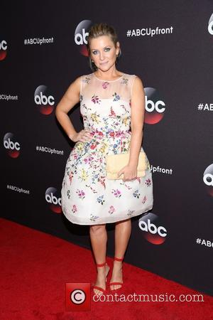 Jessica Capshaw - A variety of stars were snapped as they took to the red carpet for the ABC Upfront...