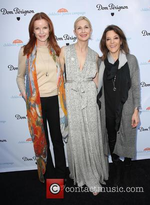 Marcia Cross, Kelly Rutherford and Marianne Williamson