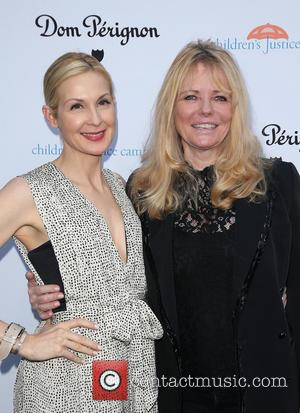 Kelly Rutherford and Cheryl Tiegs