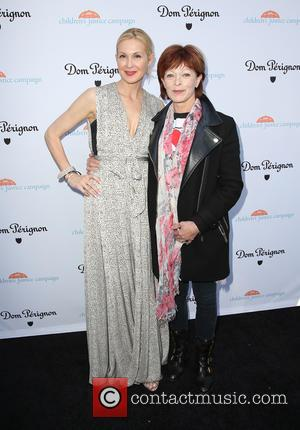 Kelly Rutherford and Frances Fisher