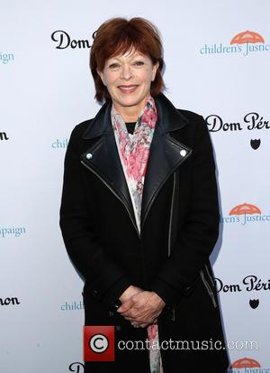 Frances Fisher - A host of stars were snapped as they arrived for the Children's Justice Campaign which was held...