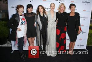 Frances Fisher, Selma Blair, Marianne Williamson, Kelly Rutherford, Melanie Griffith and Kris Jenner