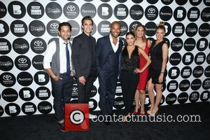 Izzy Diaz, Jose Moreno Brooks, Amaury Nolasco, Eva Longoria, Alex Meneses and Jadyn