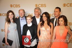 Cast Of ''life In Pieces'' Betsy Brandt, Dan Bakkedahi, Dianne Wiest, James Brolin, Angelque Cabral, Colin Hanks and Zoe Lister Jones