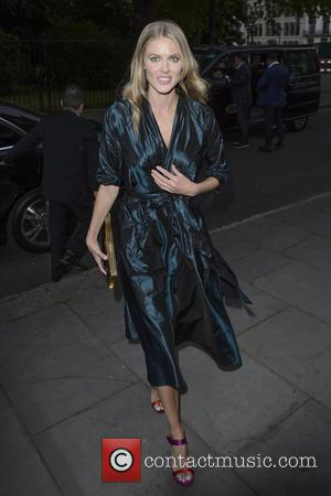 Donna Air - The closing party for the Dom Perignon Pop-Up Party - Arrivals at Lincoln Inn Fields - London,...