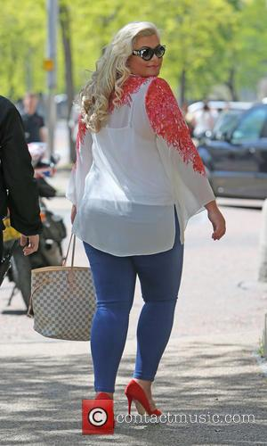 Gemma Collins - Gemma Collins outside ITV Studios - London, United Kingdom - Wednesday 13th May 2015