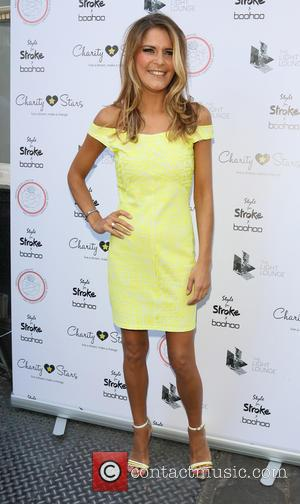 Gemma Oaten - Style For Stroke Launch Party at the Light Lounge in London - Arrivals at Light Lounge, Chinatown...