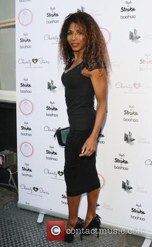 Sinitta - Style For Stroke Launch Party at the Light Lounge in London - Arrivals at Light Lounge, Chinatown -...