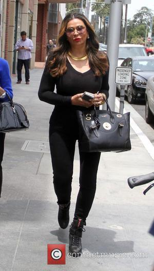 Tina Knowles - Fashion designer Tina Knowles goes shopping in Beverly Hills - Los Angeles, California, United States - Wednesday...
