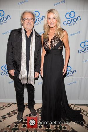 Mick Jones and Petra Levin