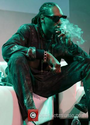 American rap star Snoop Dogg was photographed as he attended a Q&A as well as a sneak peek of his...