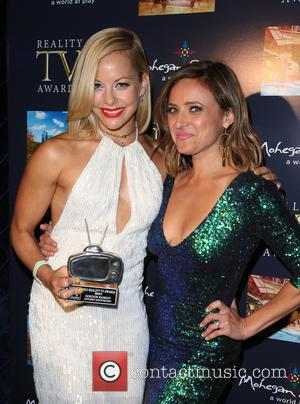 Amy Paffrath and Christine Lakin - 3rd Annual Reality TV Awards held at The Avalon Hollywood - Inside at Avalon...