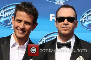 Joey McIntyre and Donnie Wahlberg
