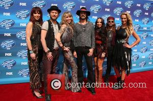 Loving Mary - A variety of stars were photographed as they arrived for the 2015 American Idol XIV Grand Finale...