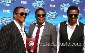 Tito Jackson, Jackie Jackson and Marlon Jackson - A variety of stars were photographed as they arrived for the 2015...