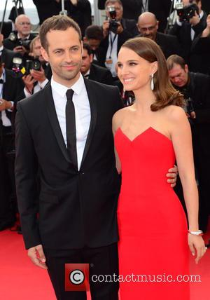 Natalie Portman and Benjamin Millipied