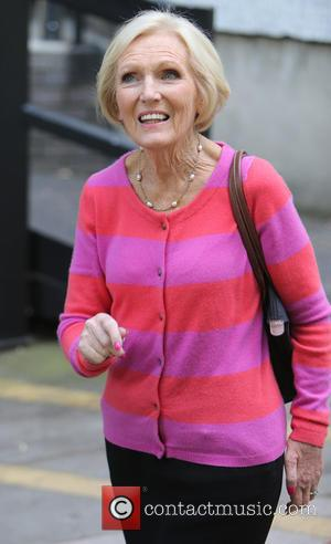 Mary Berry - Mary Berry outside the ITV Studios - London, United Kingdom - Wednesday 13th May 2015
