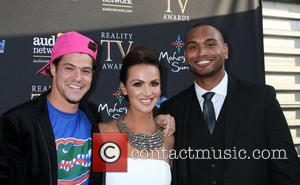 Zach Rance, Brittany Martinez and Devin Shepherd - Reality TV Awards 2015 - Arrivals at Avalon Club - Los Angeles,...