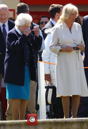 Camilla, Duchess Of Cornwall and Queen Elizabeth Ii