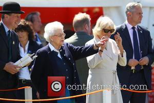 Queen Elizabeth II and Camilla Duchess of Cornwall