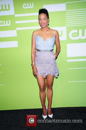 Aisha Tyler - A variety of celebrities were photographed as they arrived at the CW Network's 2015 Upfront event which...
