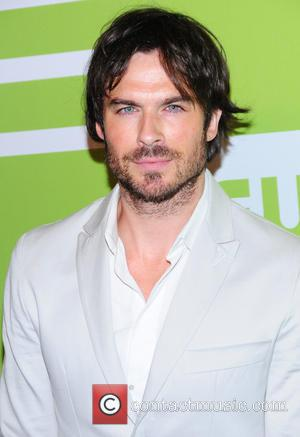 Ian Somerhalder - A variety of celebrities were photographed as they arrived at the CW Network's 2015 Upfront event which...