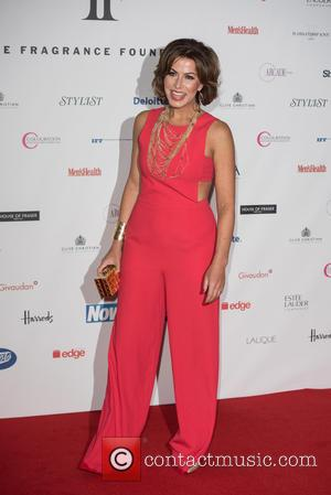 Natasha Kaplinsky - FiFi Fragrance Foundation Awards 2015 held at the Brewery - Outside Arrivals. - London, United Kingdom -...