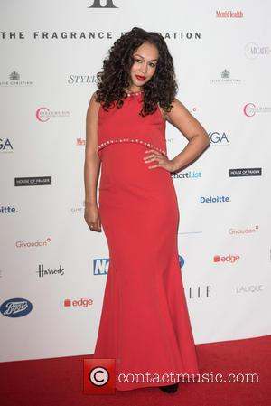 Rebecca Ferguson - FiFi Fragrance Foundation Awards 2015 held at the Brewery - Outside Arrivals. - London, United Kingdom -...