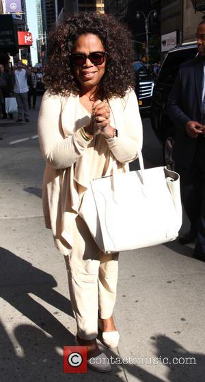 Oprah Winfrey - A variety of stars were photographed as they arrived to Ed Sullivan Theater ahead of their interviews...