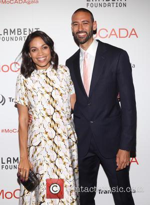 Rosario Dawson and James E. Bartlett