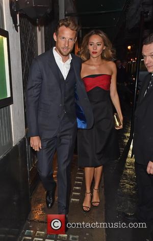 Jenson Button - A host of stars were snapped as they arrived to the 2015 Vanity Fair Party which was...