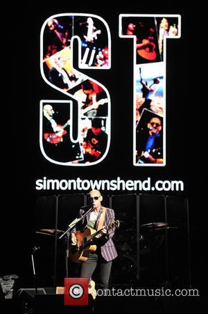 Pete Townshend, Simon Townshend and Eddie Vedder
