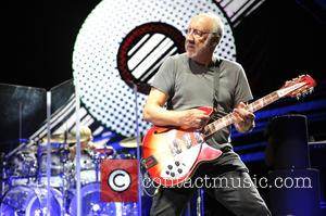 Pete Townshend - An Evening Celebrating The Who with Pete Townshend and Eddie Vedder held at Rosemont Theatre - Performance...