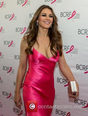 Elizabeth Hurley - A host of celebrities were photographed as they attended the Breast Cancer Research Foundation (BCRF) Party honoring...
