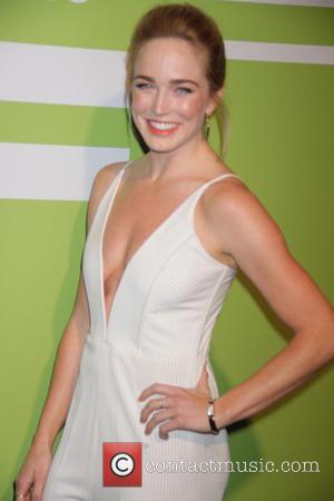 Caity Lotz - The CW Network's 2015 Upfront at London Hotel - Arrivals at Park Avenue Spring - New York...