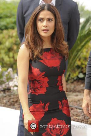 Salma Hayek Defies 'Sefie' Ban At Cannes